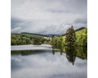 Hidden Loch Fine Art Photography Scotland Landscape Outlander inspired Romantic Home Decor dramatic dreamy travel dreams large wall art