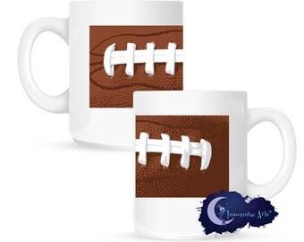 Football 15 oz Coffee Mug