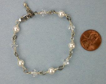 Swarovski Pearls and Crystals Bracelet