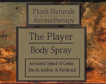 THE PLAYER Body Spray for Men VEGAN