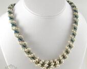 Spiraling Pearls Necklace - Beading Pattern/Tutorial Downloadable PDF