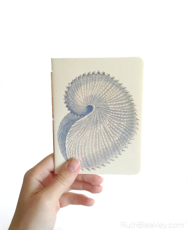 Nautilus Notebook with Rounded Corners