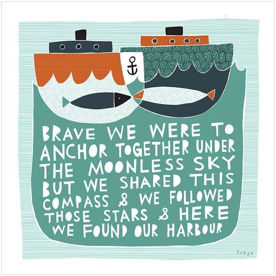 Our Harbour - Fine Art Print