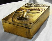 Small Sized 3D Golden Buddha Charging Box - Activated 3 X Charged 3 X Boost 1 X