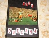 University of Oregon 1958 Oregana Yearbook Phil Knight Rosebowl Len Casanova