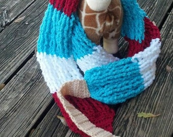 Red White Blue Bomb Pop Scarf