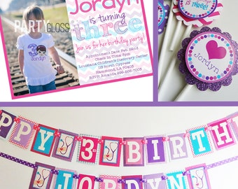 Girly Doctor Birthday Party Decorations Package Fully Assembled