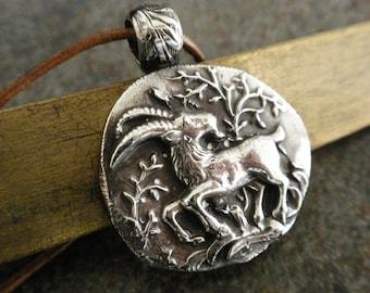 Goat Pendant Capricorn Zodiac
