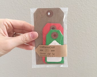 Christmas Gift Tags - blank gift tag assortment