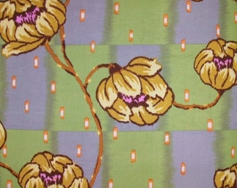 Lotus Collection Water Lily Fabric by the yard / Half yard fabric / or fat quarter, Amy Butler Cotton quilt fabric, quilting fabric,