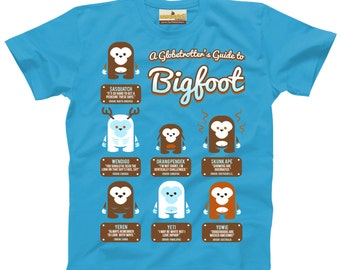 A Globetrotter's Guide to Bigfoot — Toddler T-shirt