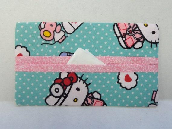 Hello Kitty Wedding Gift: Nurse Hello Kitty Tissue Cozy/Gift Card Holder/Party