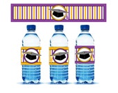 Graduation Water Bottle labels - Instant Download Digital File