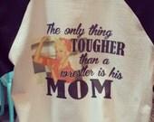 wrestling mom shirt, wrestling mom, wrestling shirt, tougher than a wrestler,