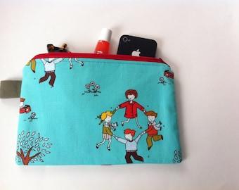 zippered medium pouch - perfect teacher gift