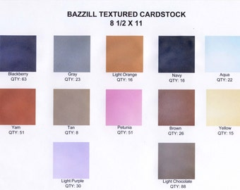 Bazzill Textured Cardstock