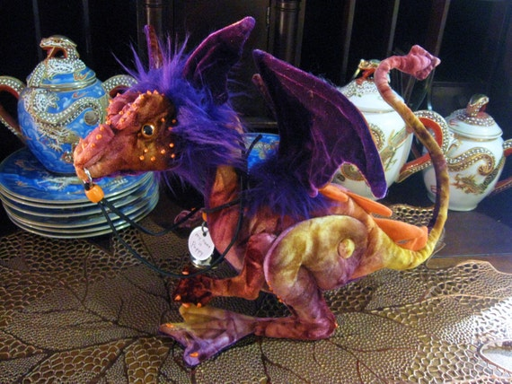 Reserved for Erin Leigh, Two nipper Dragons,Poppy and Minka, Do not purchase unless you are her.