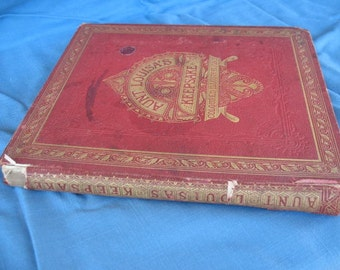 Aunt Louisa's Keepsake -  1868 Children's Picture Book -  Beautiful - Price just reduced!