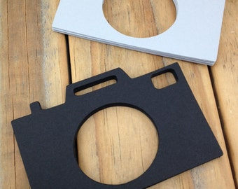 Classic Camera Paper Die Cuts