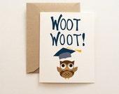 Woot Woot! Graduation Card