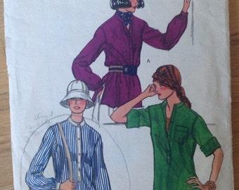 Vintage Vogue 9441 Misses's Pullover Shirt