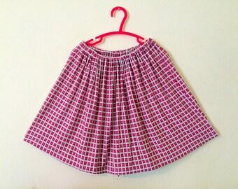Mod swing skirt