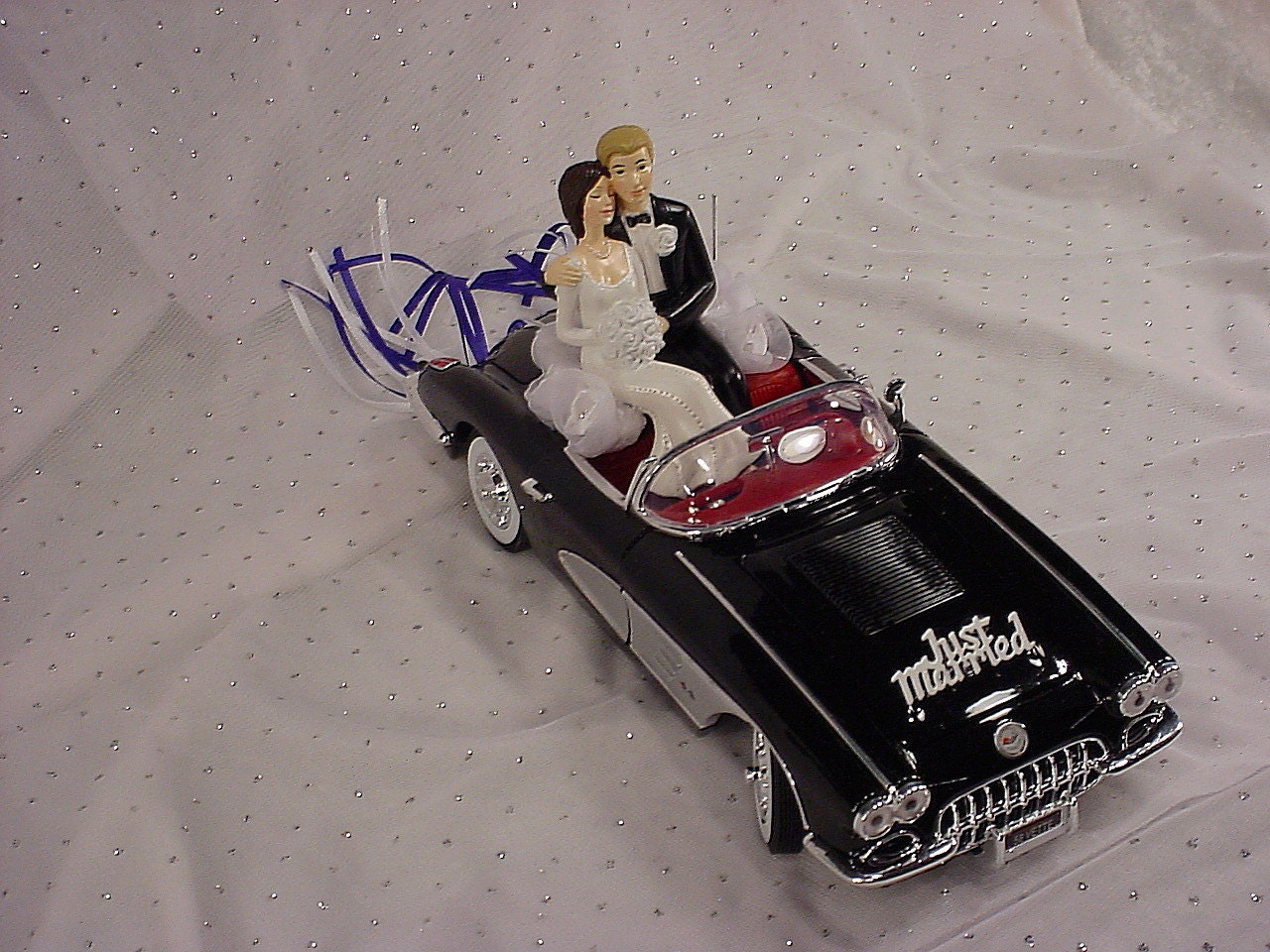58 Chevy Convertible Corvette Vintage Auto Car Wedding Cake