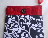 Red Black and White Small Bag