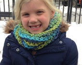 Children's Crocheted Cowl Scarf