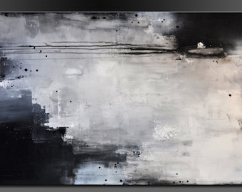 Urban Move - 24 x 36 - Abstract Acrylic Painting on Canvas - Contemporary Original Wall Art- On Sale
