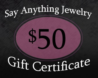 Gift Certificate - 50
