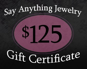 Gift Certificate - 125