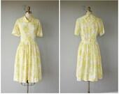 1960s Dress | 60s Dress | 1960s Floral Dress | 50s Dress