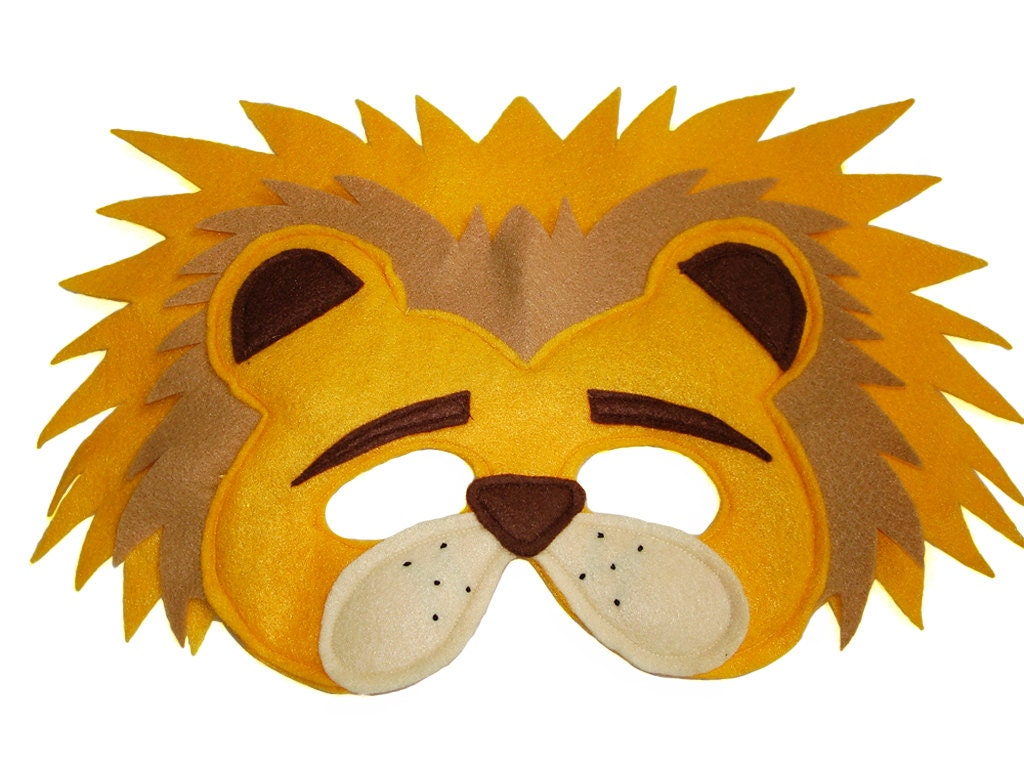 Dramatic image with regard to printable lion masks