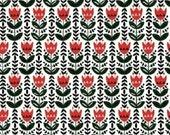 SALE - Windham Fabrics - Wild Field Collection by Dinara Mirtalipova - Tulips in Red