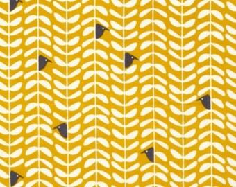 SALE - Cloud 9 Fabrics - Yoyogi Park Collection - Peeking in Gold Organic