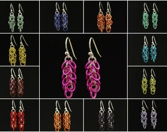 Baker's Dozen Sassy Shaggy Earrings - 13 Pairs in an Assortment of Colors or You Pick - Ready Made or Kit