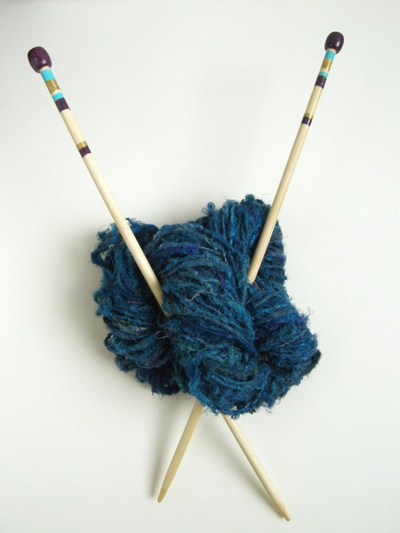 Knitting Needle Size 5mm : Size knitting needles hand painted mm