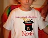 Magic Themed Birthday Shirt,  Magician Birthday, Magical Birthday Shirt