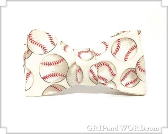 The Cooperstown  Natural Baseball bow Tie