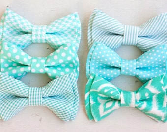 Bow Tie, Bow Ties, Boys Bow Ties, Baby Bow Ties, Bowties, Ring Bearer, Bow ties For Boys, Ties, Bowties, Baby Gift - Mint Collection