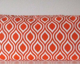 Pillow Cover - Tangerine - Geometric - accent pillow cover - Orange - Cushion Cover - Prints Emily