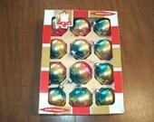 Christmas Ornaments, Christmas bulbs, Vintage bulbs, Christmas Decor,Christmas Tree, Colby Ornaments,Vintage Ornament, 1960s Christmas,Bulbs