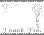 Aviation themed Thank You Notes Set