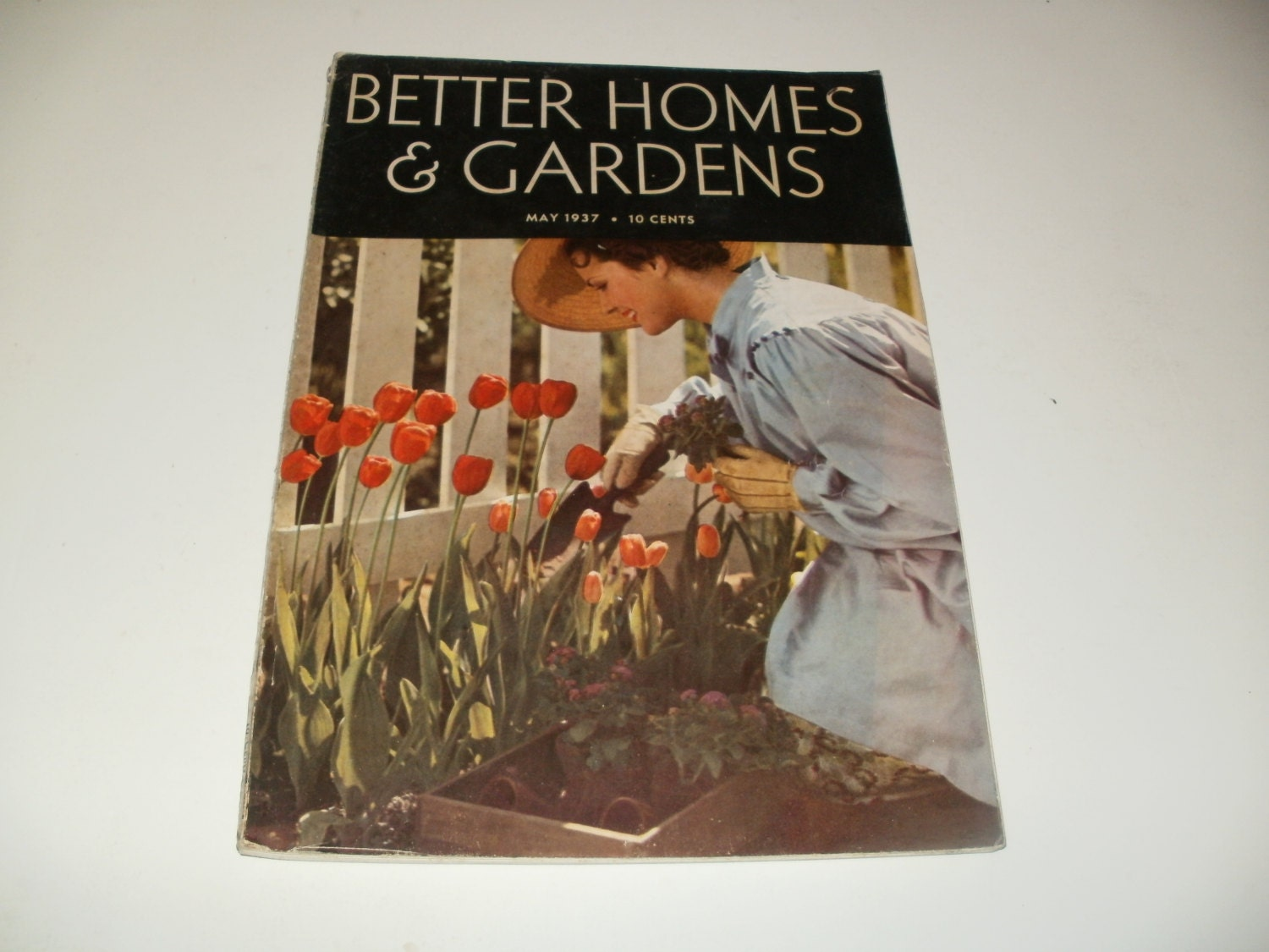 Vintage Better Homes And Gardens Magazine May 1937 Super
