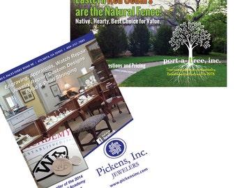 Custom Ad Design for Print, Ad design for Web, Graphic Design, Advertising Design, Design Services, Announcement