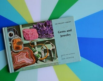 Vintage 1960s Book of Gems and Jewelry