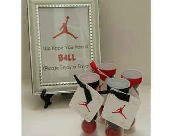 jordan themed jumpman inspired gumb all party favors