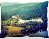Decorative Landscape Pillow - The Adirondack Mountains