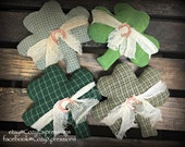 Handmade St. Patricks Bowl Filler or Tucks